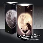 Moon Chess Shadow Lamp (click to enlarge)