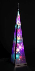 Rainbow Star Flower Pyramid (click to enlarge)