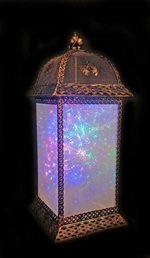 Rainbow Starburst Lantern (click to enlarge)