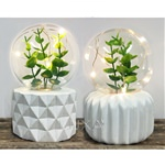 Set of 2 Leaf Plant Lamps (click to enlarge)