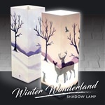 Winter Wonderland Shadow Lamp (click to enlarge)